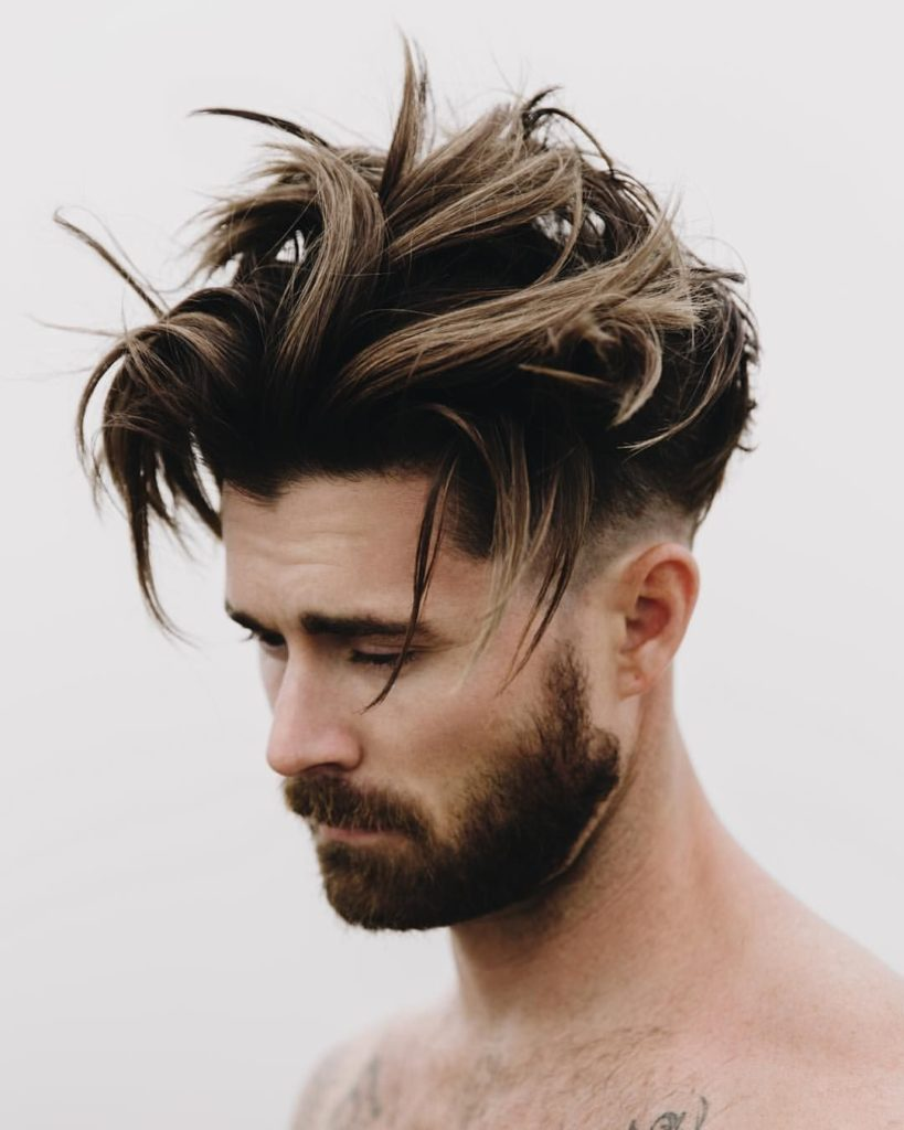 How To Style Men S Hair Luxhairstyle