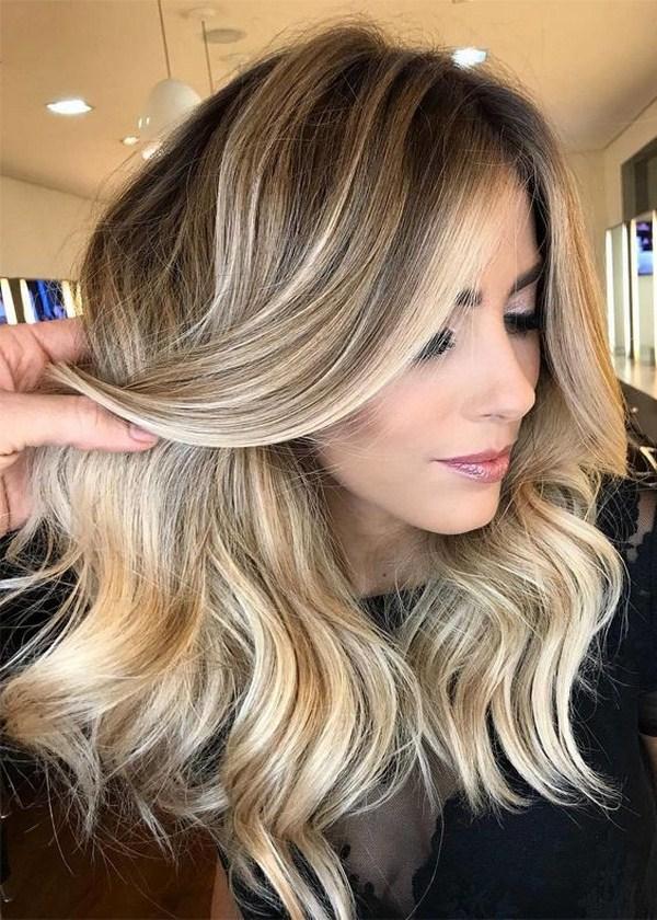 fashionable brond hair 2021