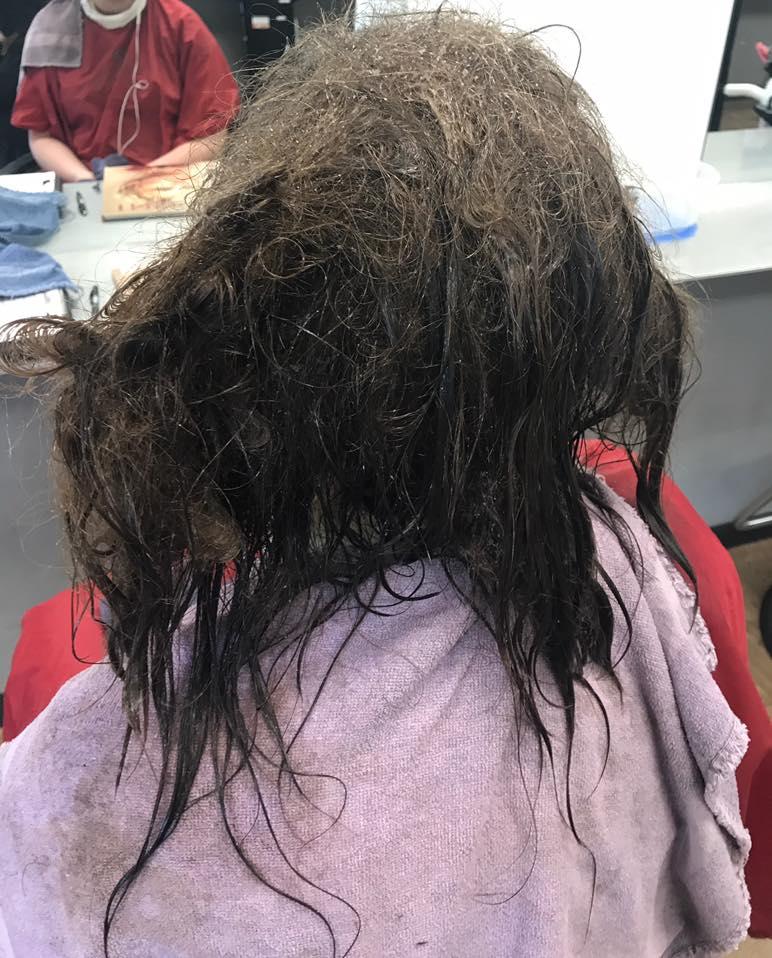 Matted hair fix matted hair