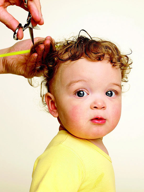 how to cut baby boy hair