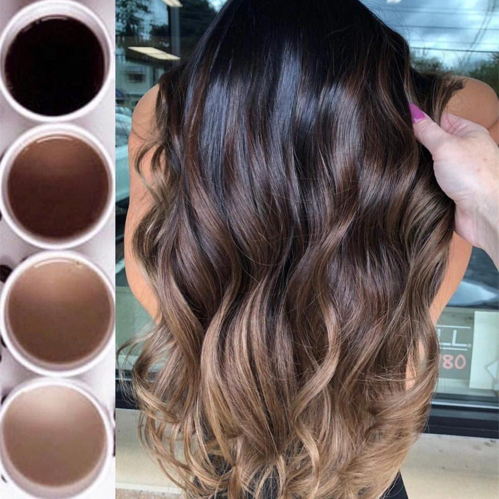 hair dye gradient