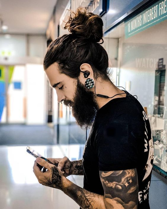 Men's Long Hairstyle for 2021