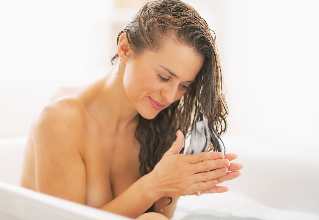 wash your hair properly