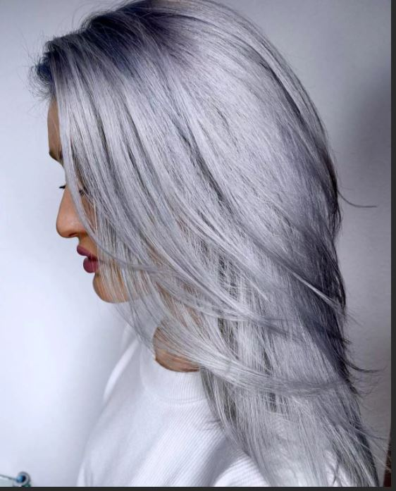 Ash blond the main trend in 2020 Silver