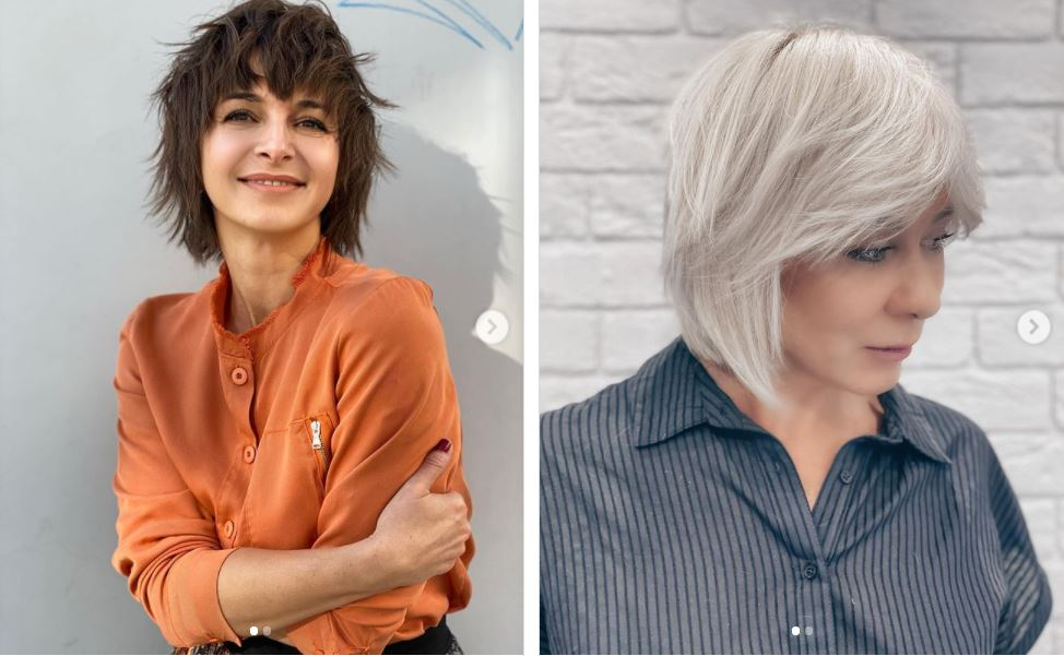 trendy styles for medium-length hair