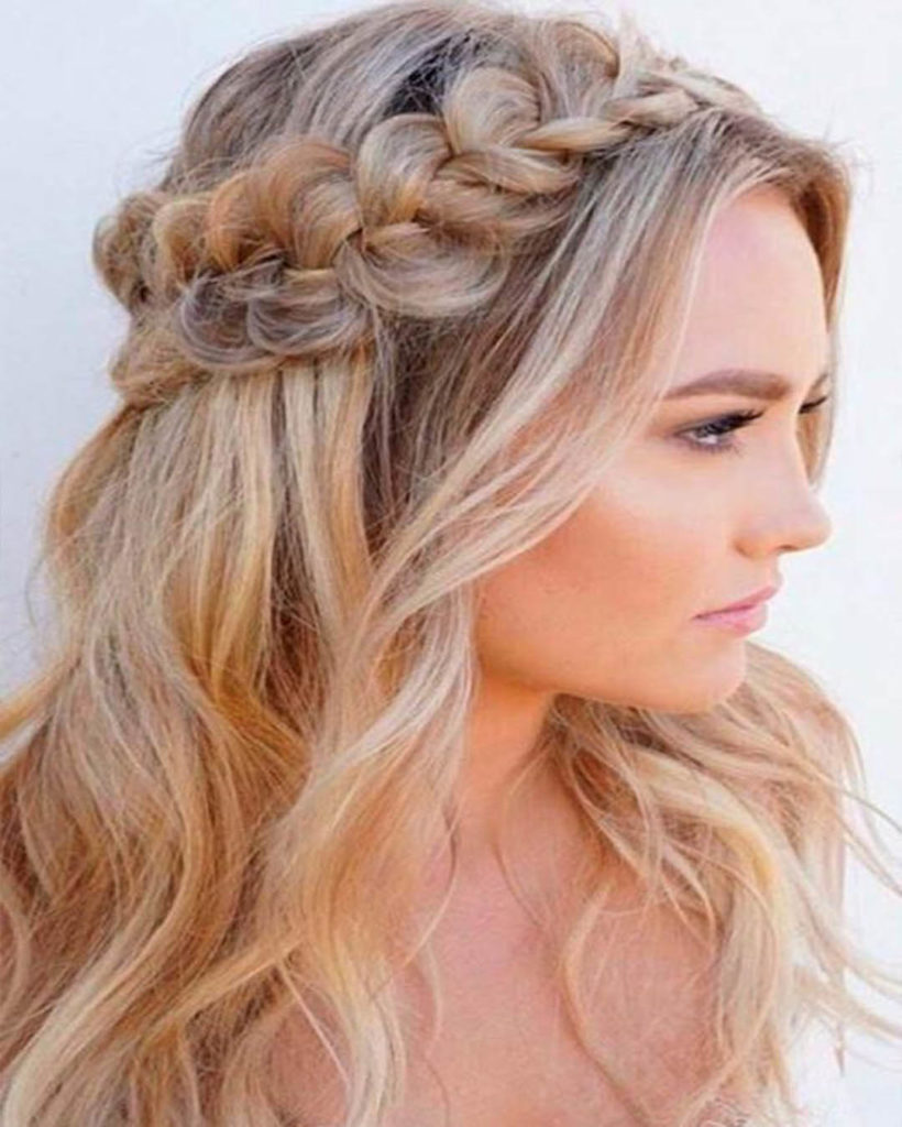 Rim with braids-gently and romantically!