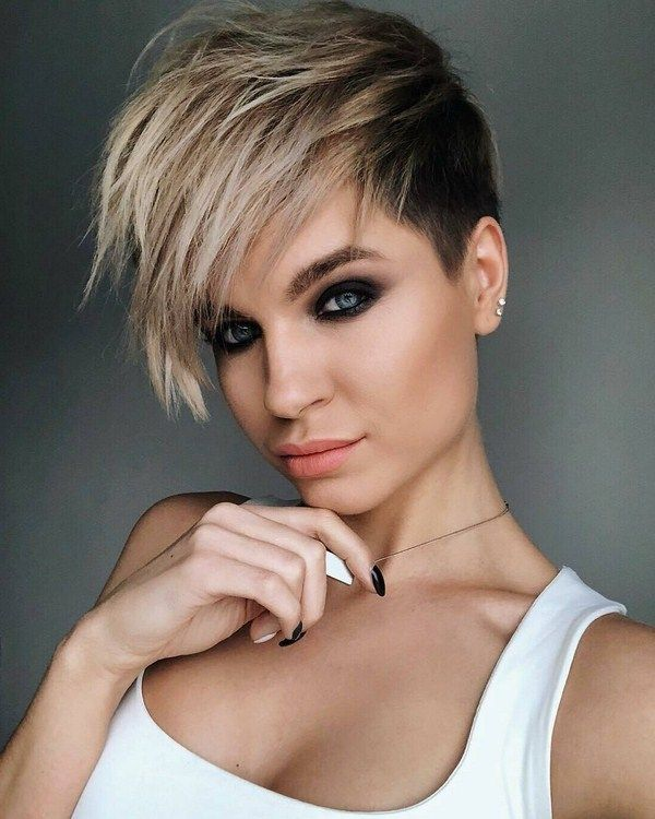 Women's short haircut for hair 2020-2021 | luxhairstyle