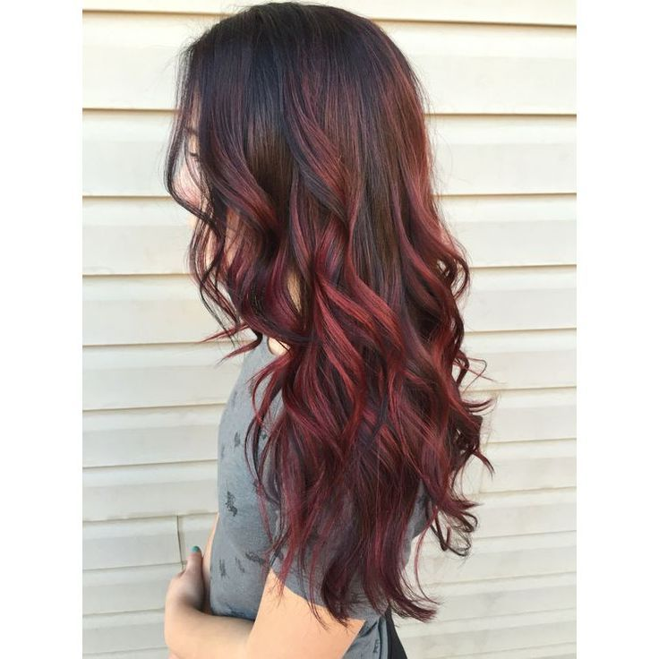 red ombre hair 2021 2022