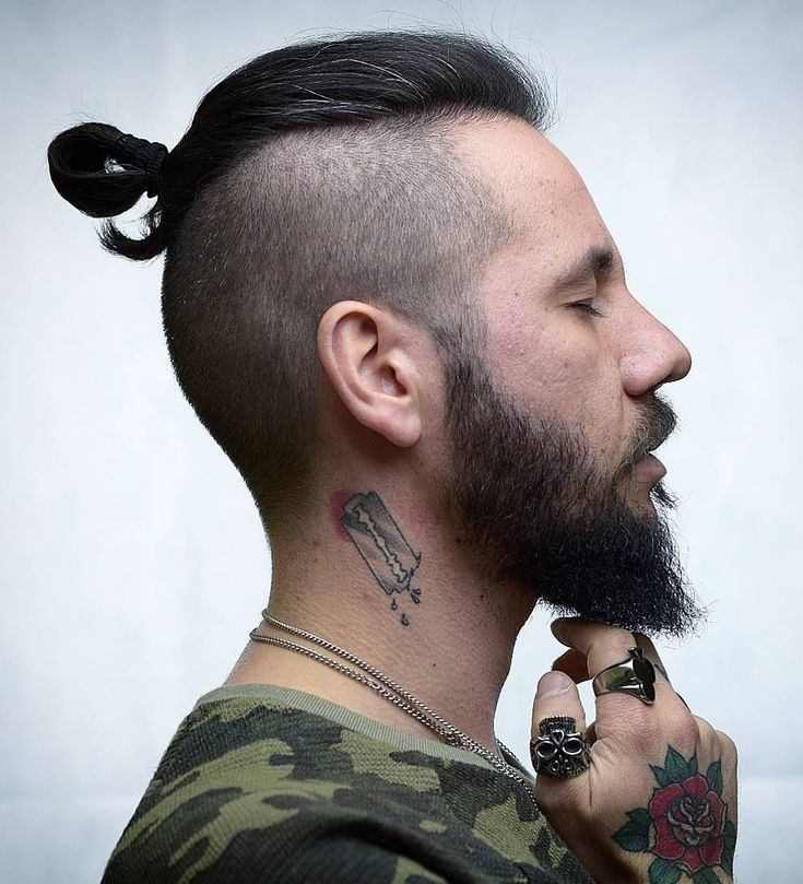 topknot trendy mens haircuts 2021