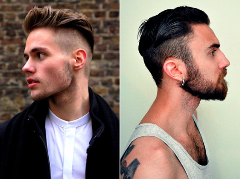 hairstyle undercut for men