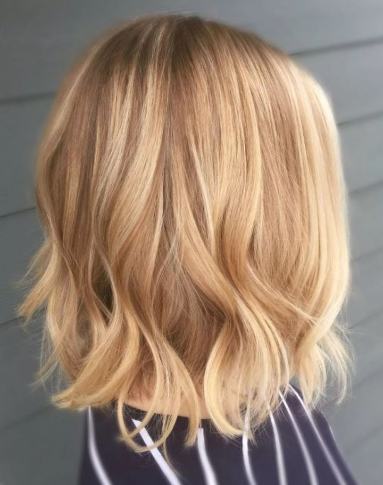 Balayage Spring hair color, Blonde hair with highlights