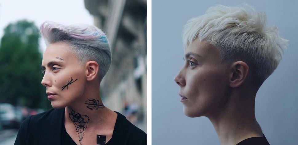 Fashionable haircut for the brave: pixie